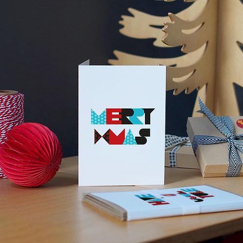 Set of 5 A6 Christmas Cards