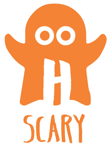 hairy scary relay logo