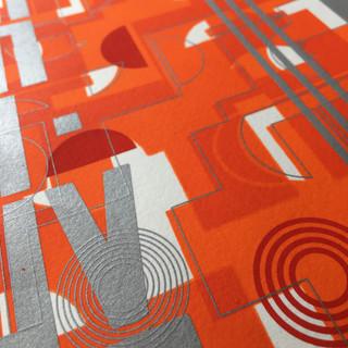 screen print  dom#3 detail