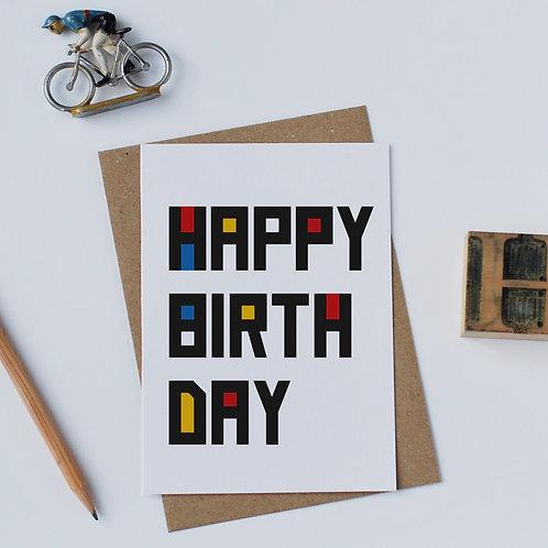 Individual Card (Walter) - Happy Birthday