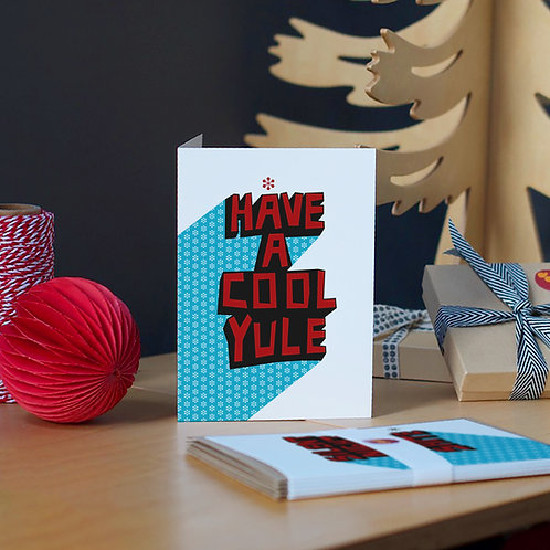 Set of 5 A6 Flash Christmas Cards