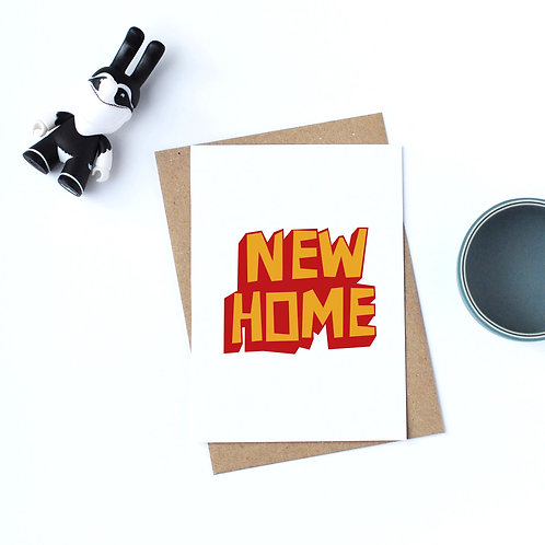 Individual Card (Scary) -New Home