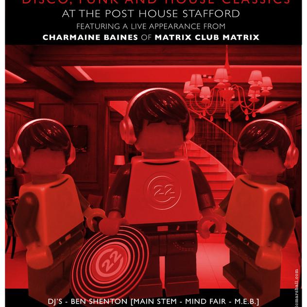 CATCH 22 posthouse lego