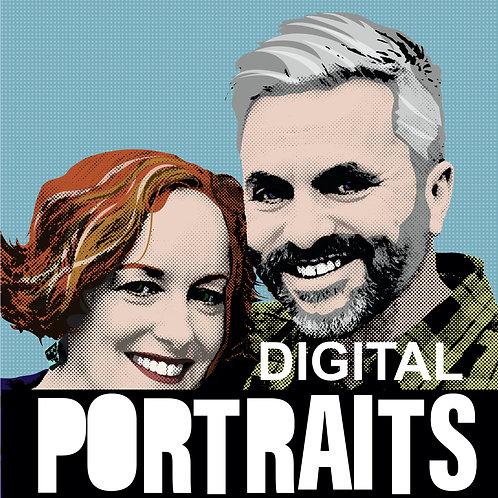 Portrait double (digital)