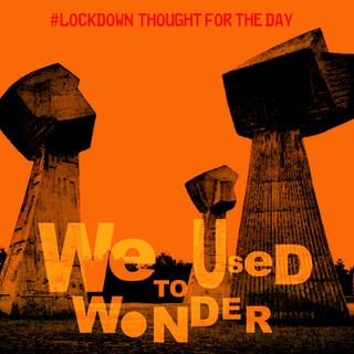 thoughts - wonder