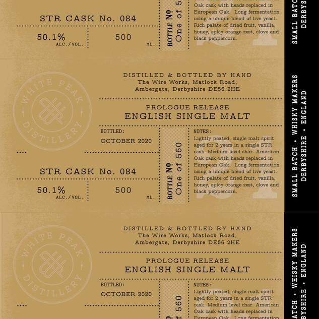 Prologue Release label detail