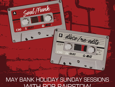 Retro Grooves May Bank Holidays Poster