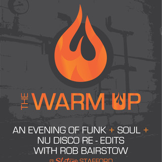 RETRO GROOVES WARM UP POSTER