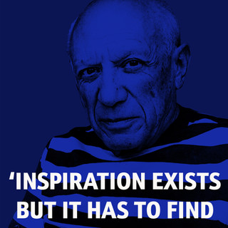 THOUGHTS -  PICASSO