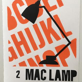 mac lamp screen print