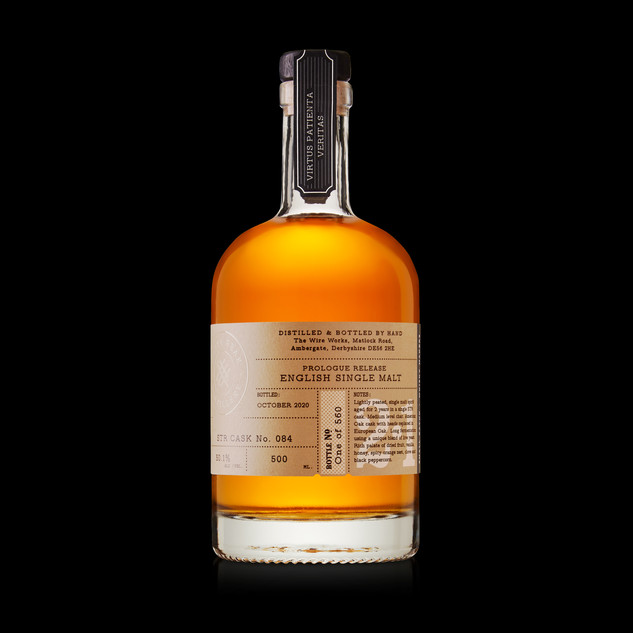 Prologue Release English Single Malt label