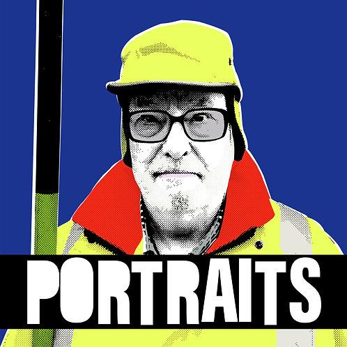 Individual portrait (printed)