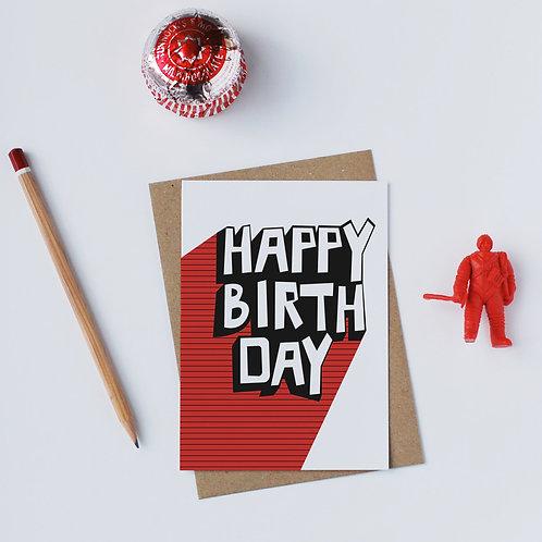 Individual Card (Flash) -Happy Birthday
