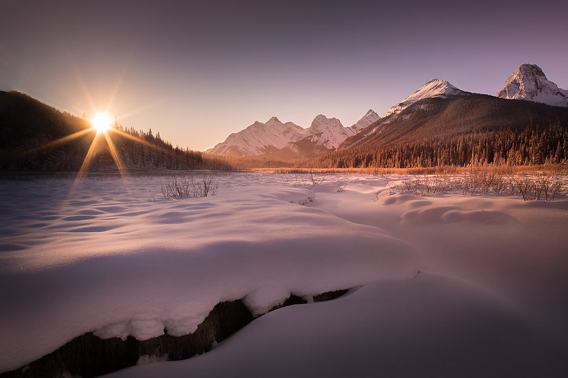 Spray Valley sunrise