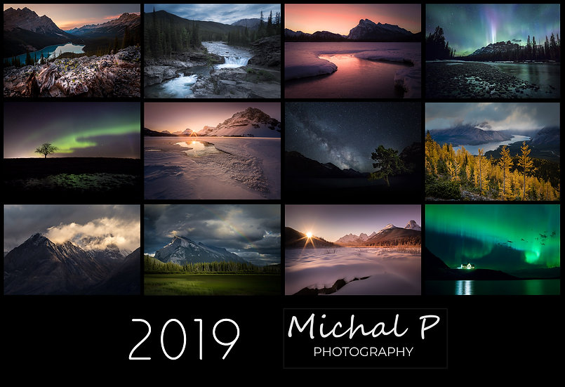 Michal P Photography 2019 Calendar