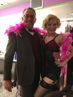 Jillian Louis with Michael Marotta