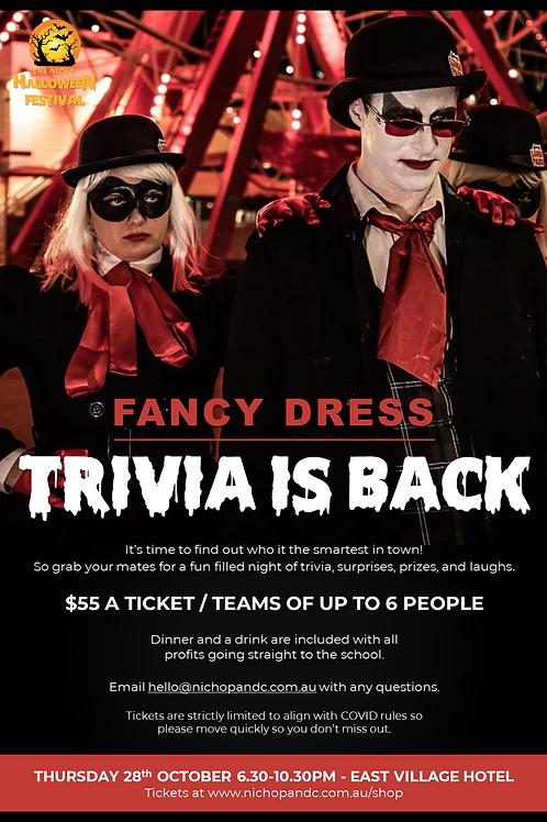 Halloween Trivia (Fancy Dress)