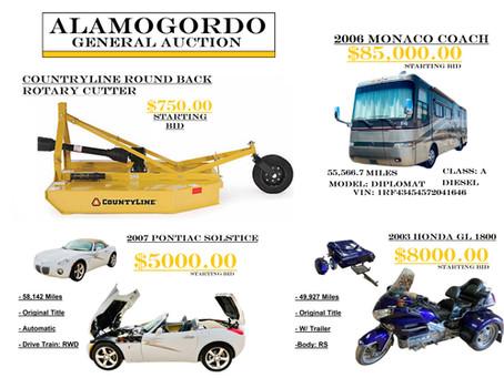 Alamogordo General Auction