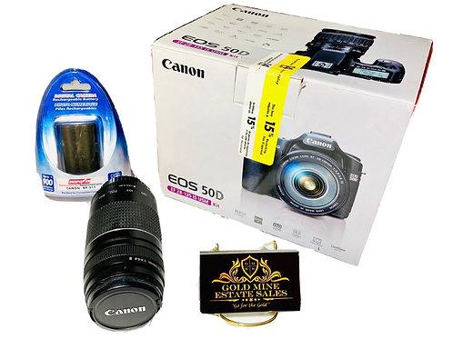 New Canon Digital Camera EOS 50D EF 28-135 IS USM Kit