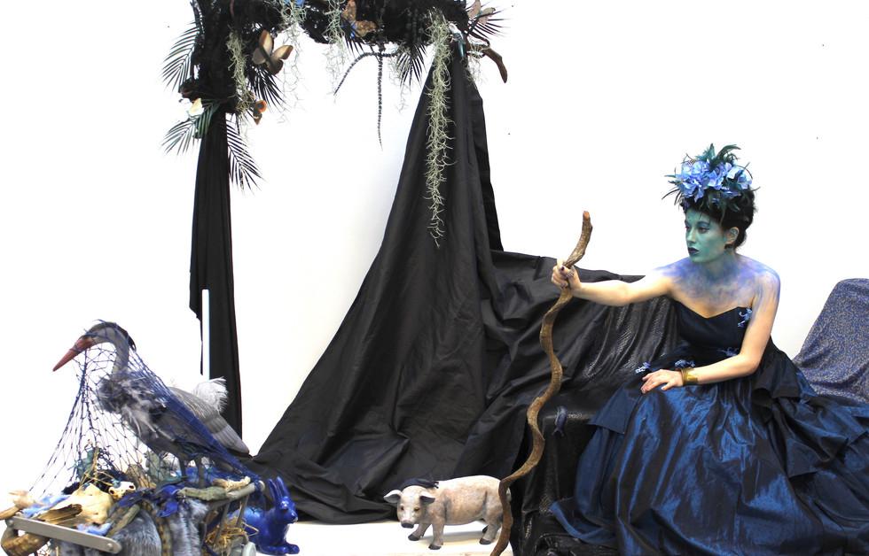 Menagerie in Blue.JPG