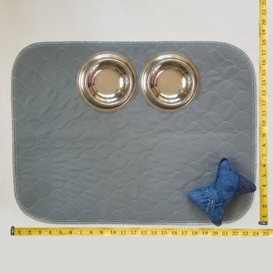 Grey 18x24 Washable Pee Pad dimensions.j