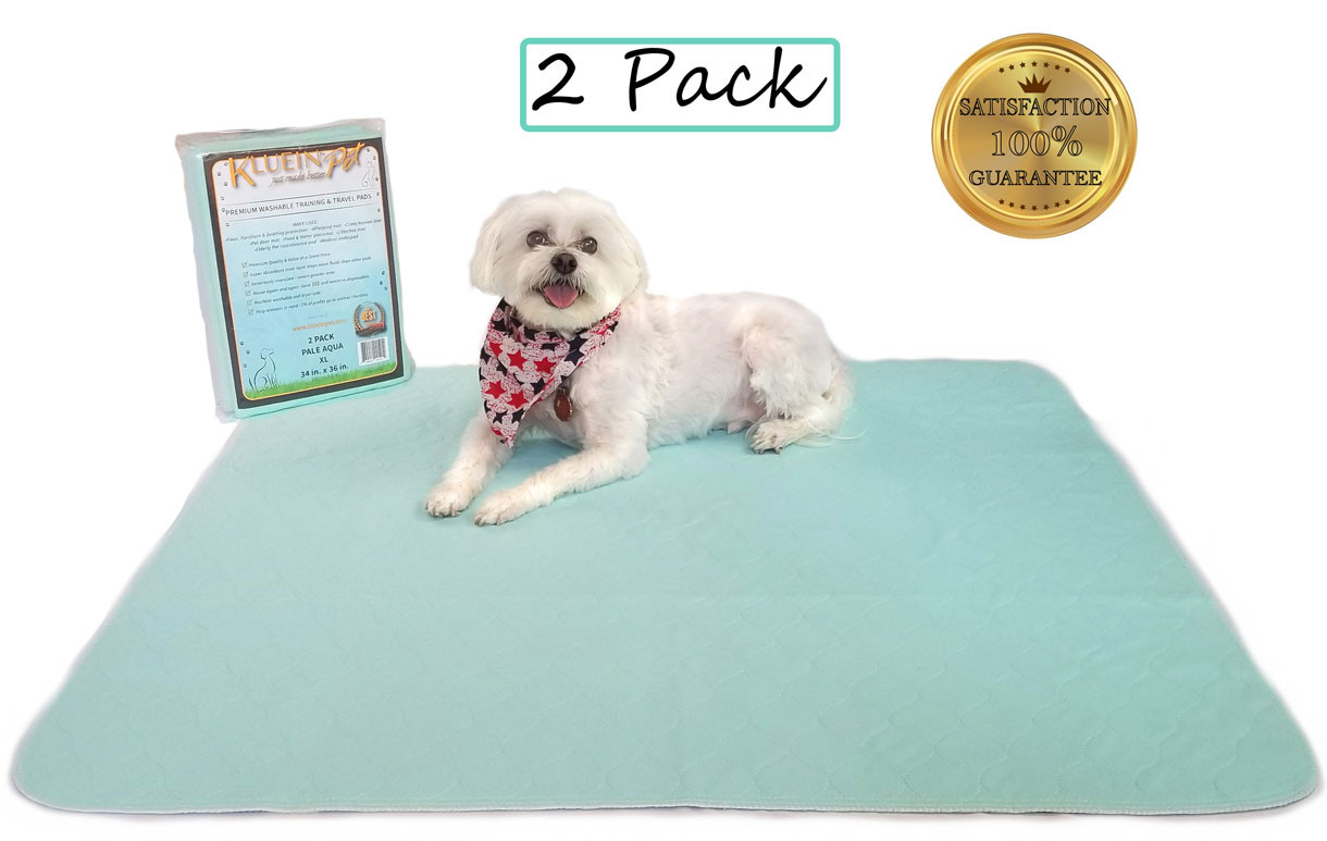 Kluein pet Washable Pee Pads for Dogs, A