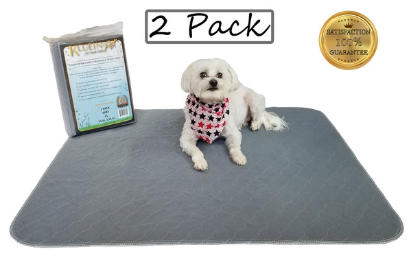 Kluein Pet Washable Pee Pads for Dogs, G