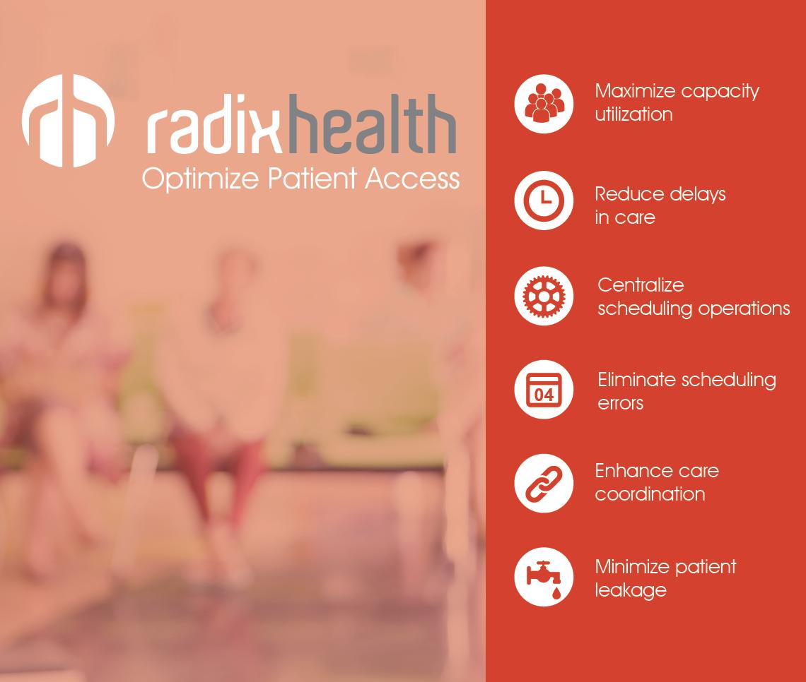 10x10 Radix Health Booth