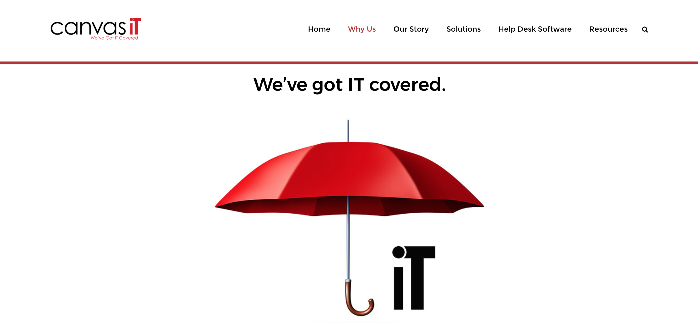 Canvas IT Website