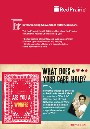 Direct Mailer for Tradeshow