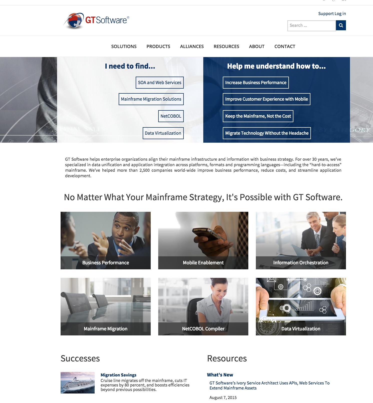 Website Creative Direction