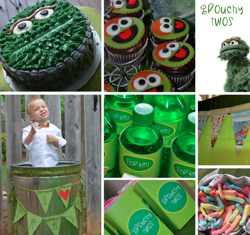 Grouchy Twos Birthday Party