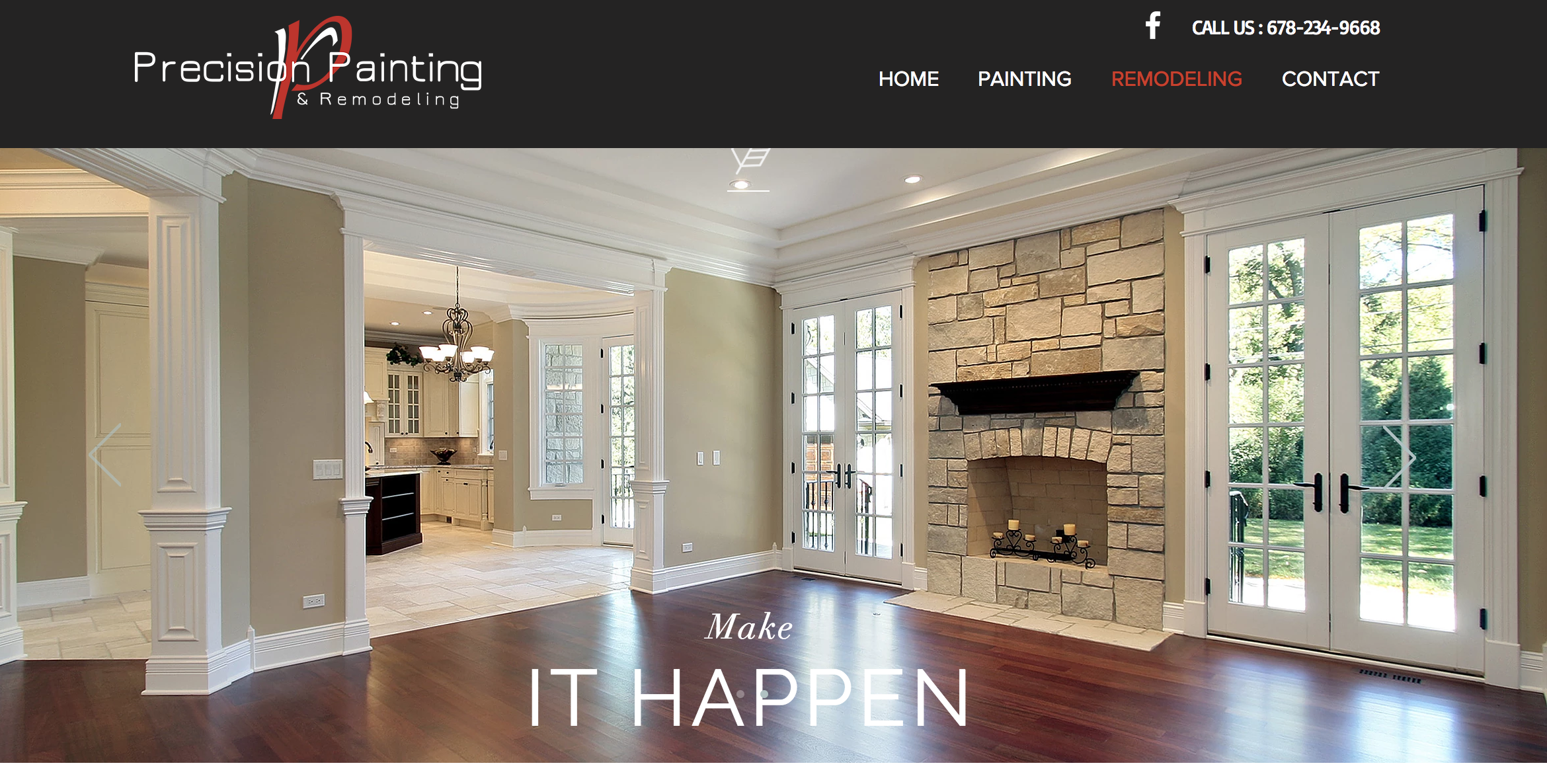 Precision Painting Website