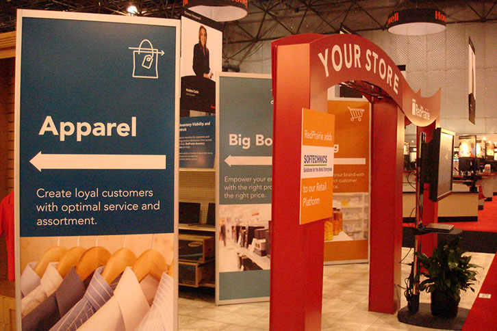 Tradeshow Signage and Booth Design