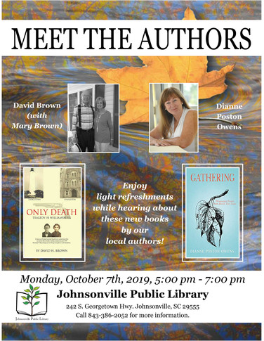 Book signings and such ...