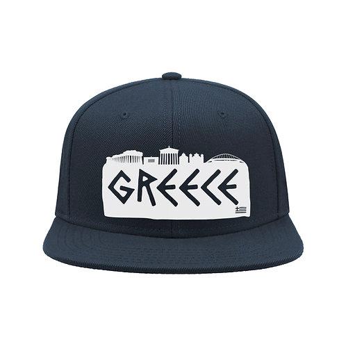 Greece (Navy, White)