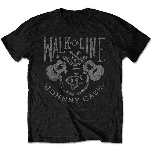 Johnny Cash Unisex Tee: Walk the Line