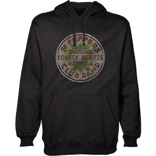 The Beatles Unisex Pullover Hoodie: Sgt Peppers
