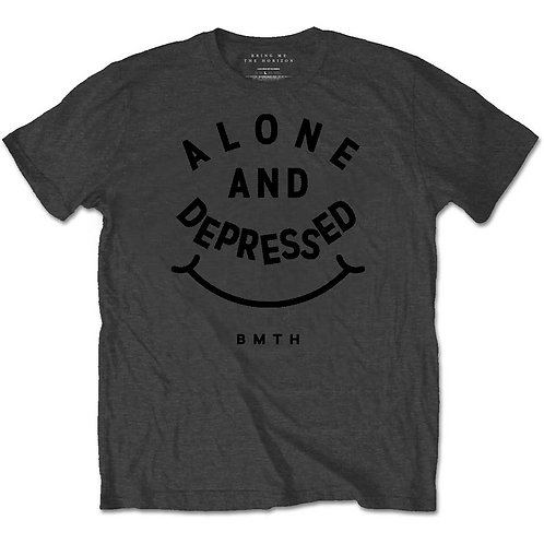 Bring Me The Horizon Unisex Tee: Alone & Depressed