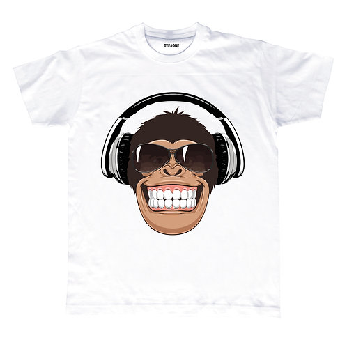Happy Monkey Unisex Tee