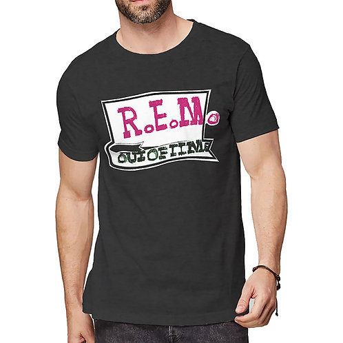 R.E.M. Unisex Tee: Out Of Time