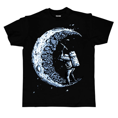 Man On The Moon Unisex Tee