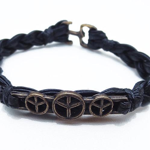 Bracelet Triple Peace