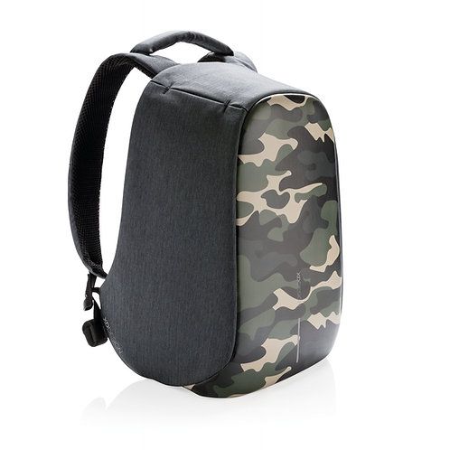 Bobby Compact Print Camouflage Green