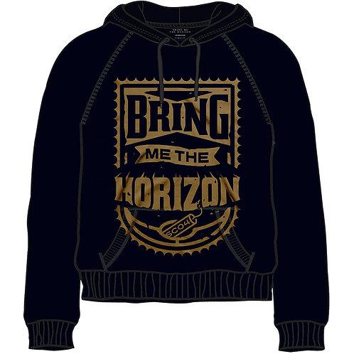 Bring Me The Horizon Unisex Pullover Hoodie: Eye
