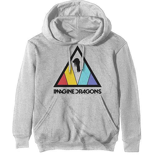 Imagine Dragons Unisex Pullover Hoodie: Triangle Logo