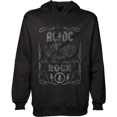 AC/DC Unisex Pullover Hoodie: About To Rock