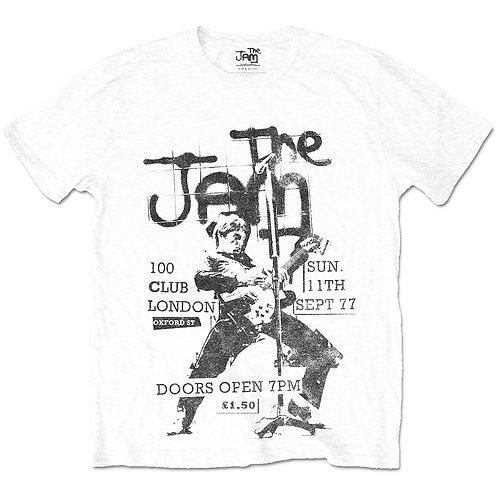 The Jam Unisex Tee: 100 Club 77