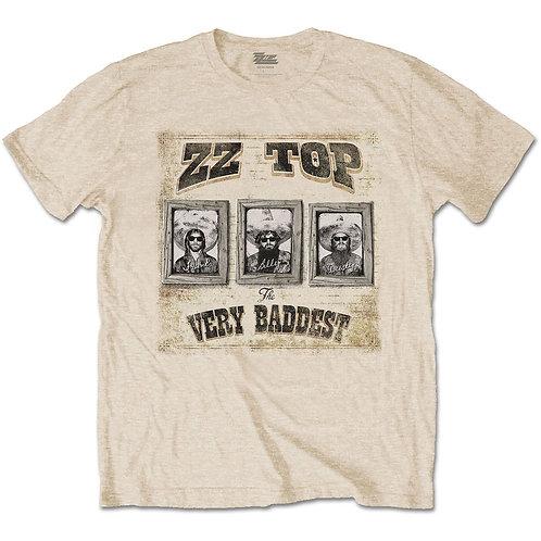 ZZ Top Unisex Tee: Very Baddest