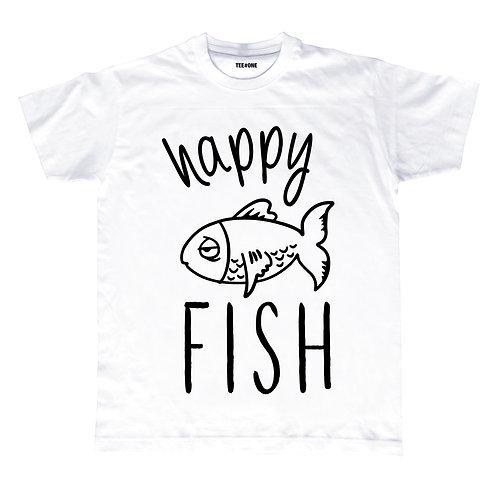 Happy Fish Unisex Tee